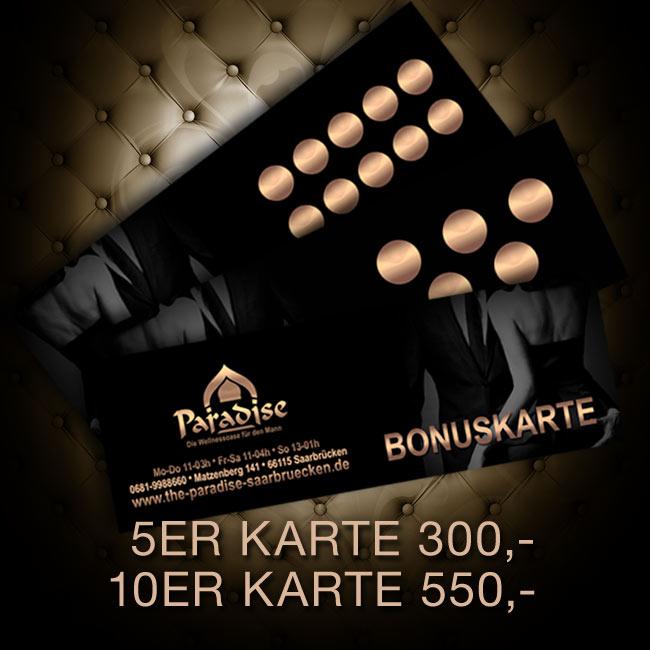 Bonuskarten 5er/10er