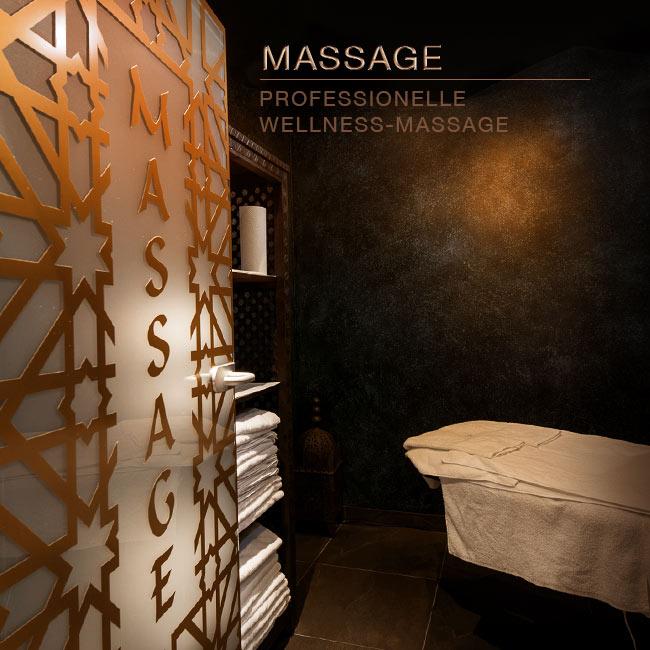 Professionelle Wellness Massage